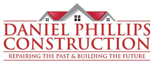 Daniel Phillips Construction Initial Logo 009